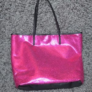 ⭐FINAL PRICE ⭐ sparkly Pink bag